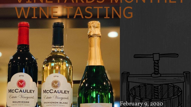 McCauley Estate Vineyards Wine Tasting