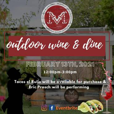 Outdoor Wine and Dine + Live Music