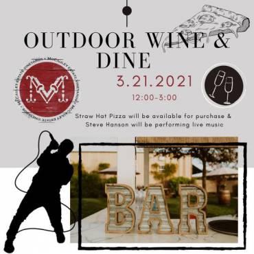 Outdoor Wine & Dine